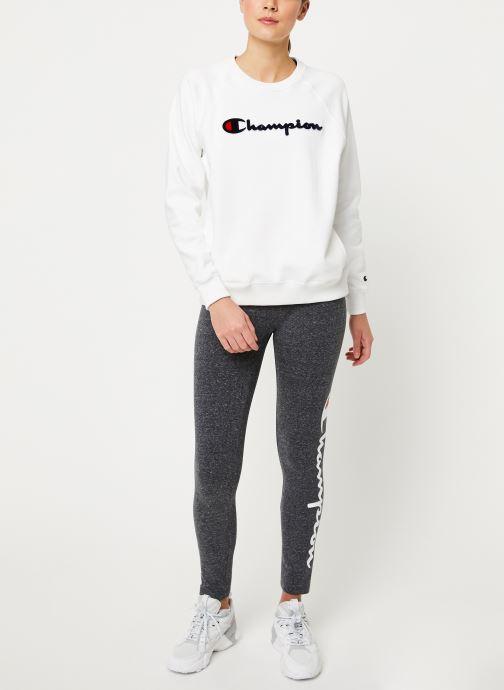 Champion Sweatshirt - Crewneck Sweatshirt W (Blanc) - Vêtements (430016)