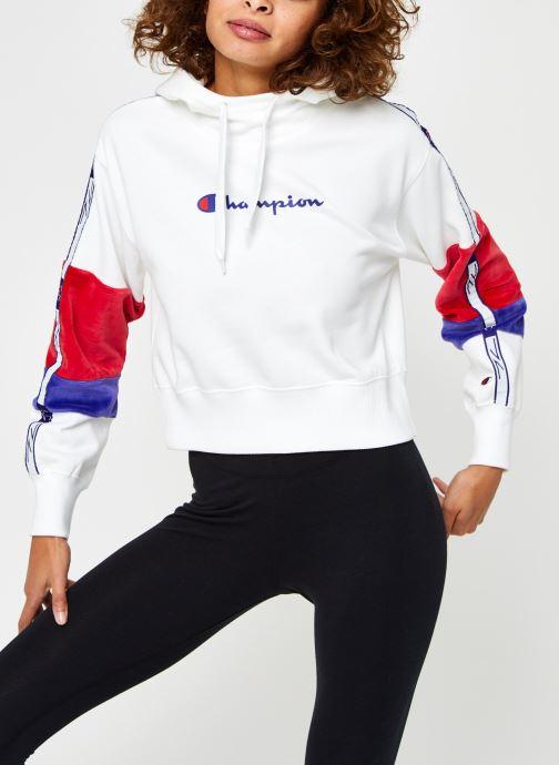 Sweatshirt hoodie - Hooded Half Zip Sweatshirt