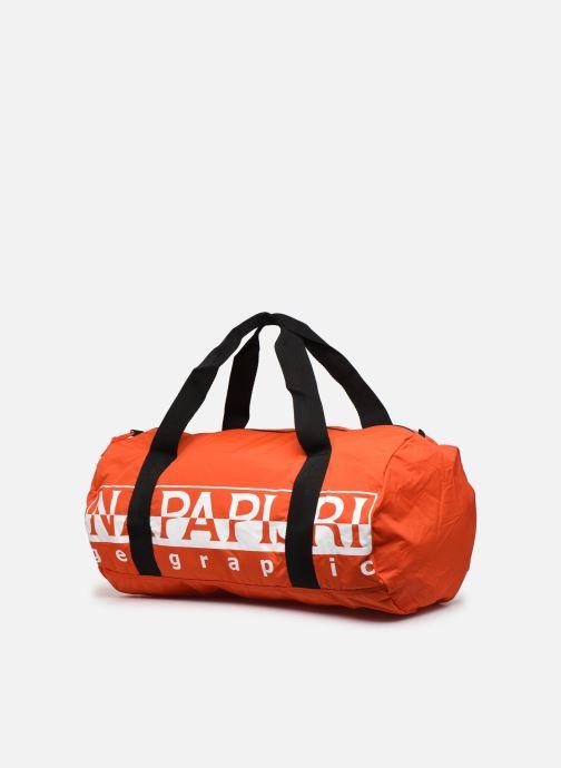 Sporttaschen Napapijri Hack Duffle orange schuhe getragen