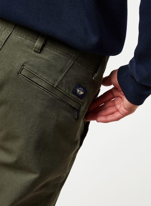 Vêtements Dockers Smart 360 Flex Alpha Slim Vert vue face