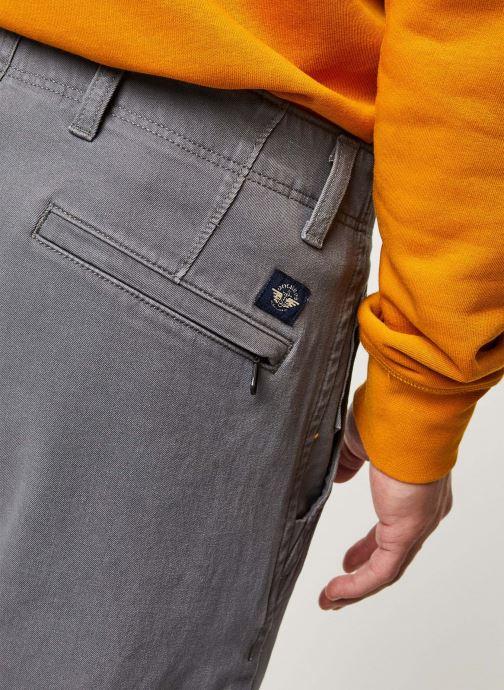 Vêtements Dockers Smart 360 Flex Alpha Slim Gris vue face