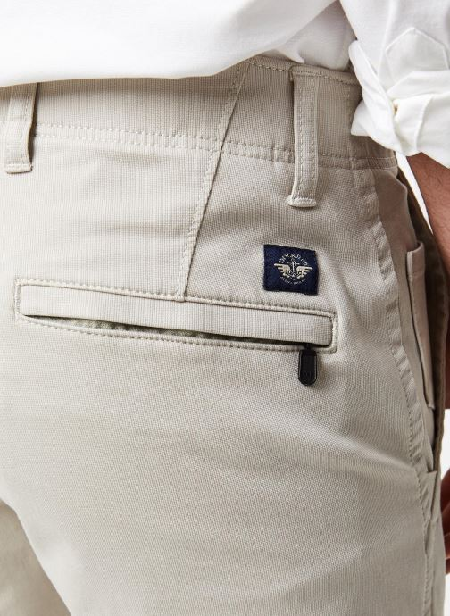 Vêtements Dockers Smart 360 Flex Alpha Slim Beige vue face