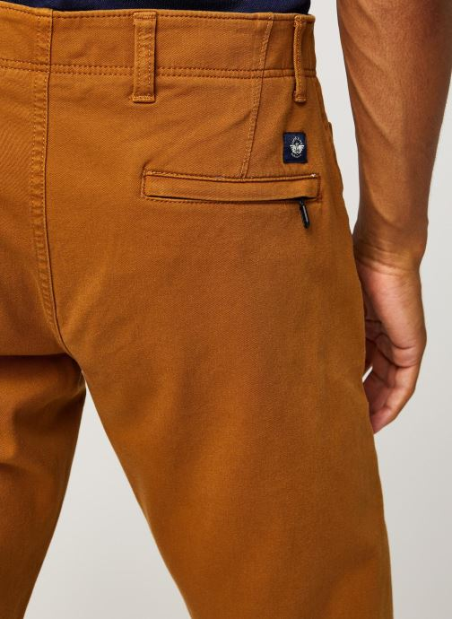 Vêtements Dockers Smart 360 Flex Alpha Slim Marron vue face