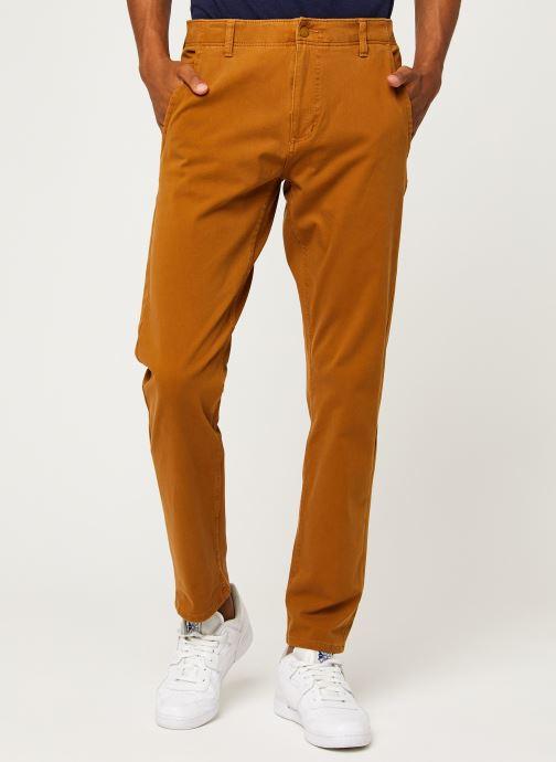 Vêtements Dockers Smart 360 Flex Alpha Slim Marron vue détail/paire