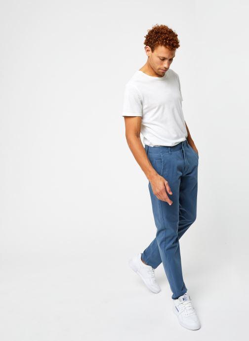 Vêtements Dockers Smart 360 Flex Alpha Slim Bleu vue bas / vue portée sac