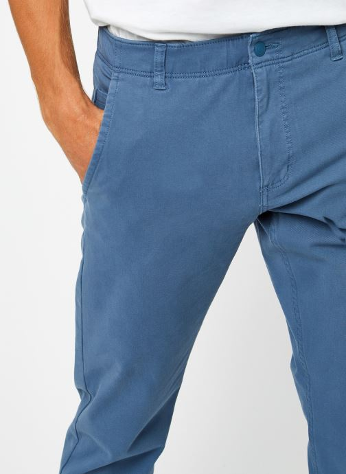 Vêtements Dockers Smart 360 Flex Alpha Slim Bleu vue face
