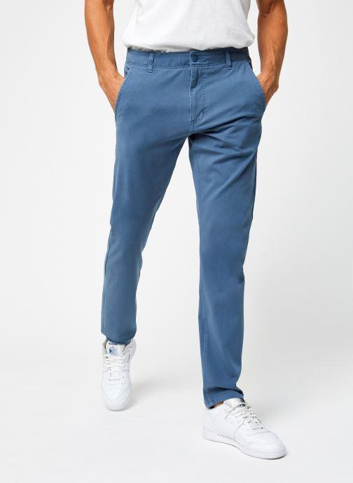 Vêtements Dockers Smart 360 Flex Alpha Slim Bleu vue détail/paire