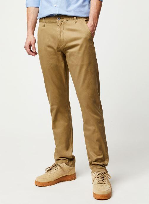 Vêtements Dockers Alpha Original Khaki Slim Beige vue détail/paire