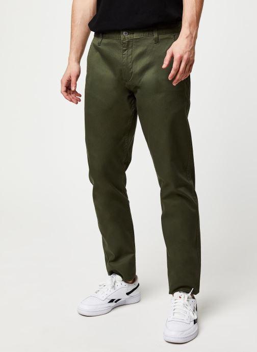 Vêtements Dockers Alpha Original Khaki Slim Vert vue détail/paire
