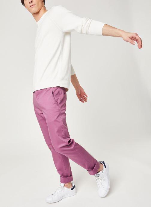 Vêtements Dockers Alpha Original Khaki Slim Rose vue bas / vue portée sac