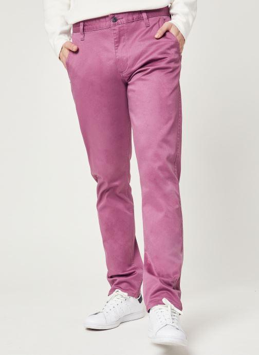 Vêtements Dockers Alpha Original Khaki Slim Rose vue détail/paire