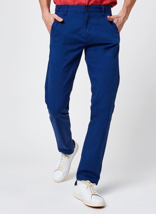 Vêtements Dockers Alpha Original Khaki Slim Bleu vue détail/paire