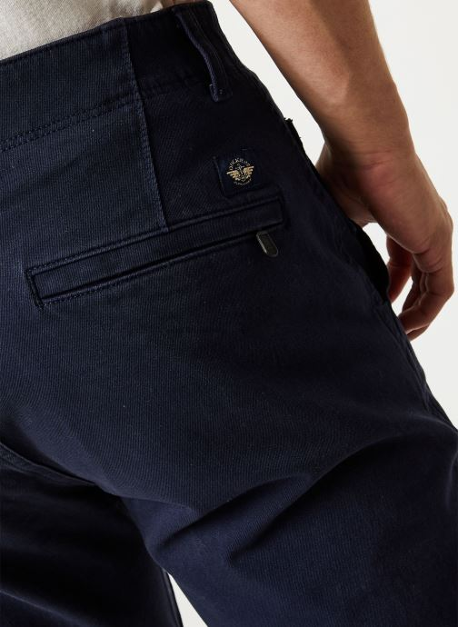 Vêtements Dockers Smart 360 Flex Alpha Skinny Bleu vue face