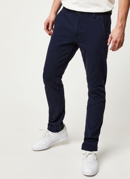 Vêtements Dockers Smart 360 Flex Alpha Skinny Bleu vue détail/paire