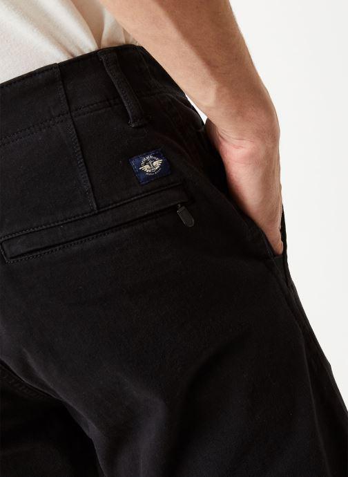 Vêtements Dockers Smart 360 Flex Alpha Skinny Noir vue face
