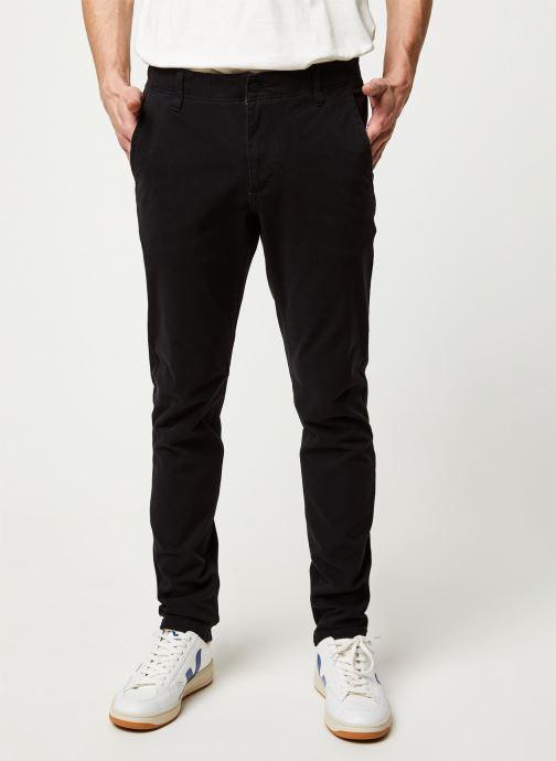 Vêtements Dockers Smart 360 Flex Alpha Skinny Noir vue détail/paire