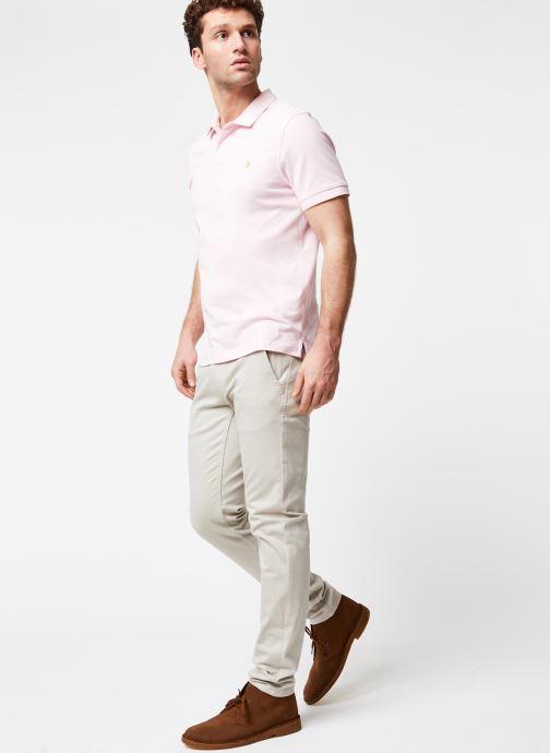 Vêtements Dockers Smart 360 Flex Alpha Skinny Beige vue bas / vue portée sac