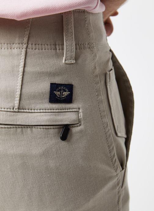 Vêtements Dockers Smart 360 Flex Alpha Skinny Beige vue face