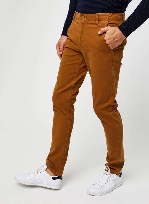 Vêtements Dockers Smart 360 Flex Alpha Skinny Marron vue détail/paire