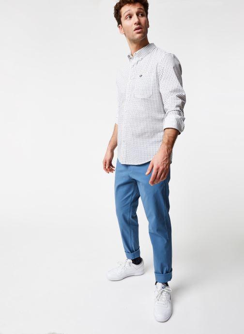 Vêtements Dockers Sf Alpha Icon Shirt Blanc vue bas / vue portée sac