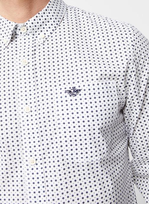 Vêtements Dockers Sf Alpha Icon Shirt Blanc vue face