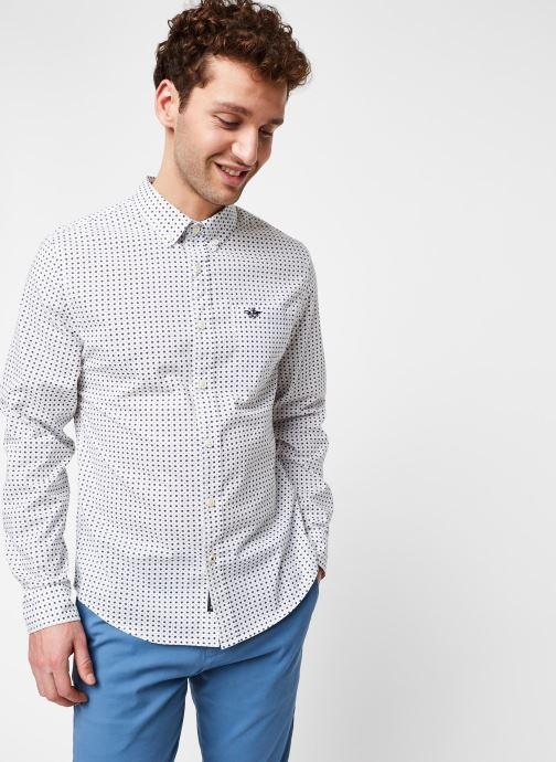 Vêtements Dockers Sf Alpha Icon Shirt Blanc vue détail/paire