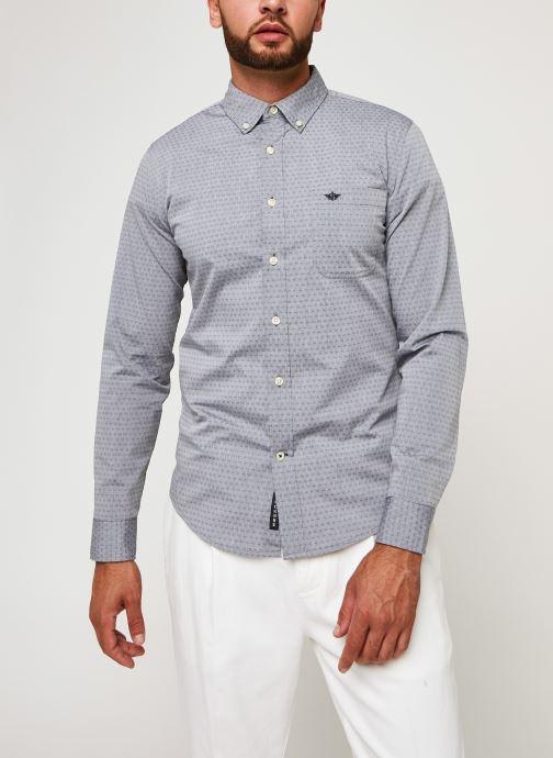 Vêtements Dockers Sf Alpha Icon Shirt Gris vue droite