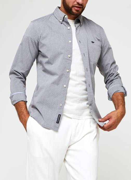 Vêtements Dockers Sf Alpha Icon Shirt Gris vue détail/paire