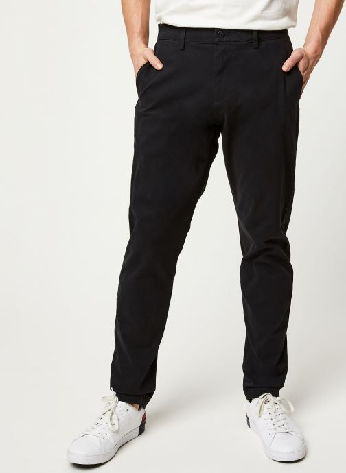 Vêtements Dockers Smart 360 Flex Chino Tapered Noir vue détail/paire