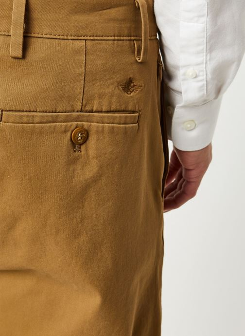 Vêtements Dockers Smart 360 Flex Chino Tapered Marron vue face