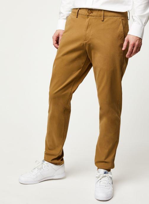 Vêtements Dockers Smart 360 Flex Chino Tapered Marron vue détail/paire