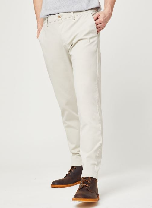 Vêtements Dockers Smart 360 Flex Chino Tapered Beige vue détail/paire