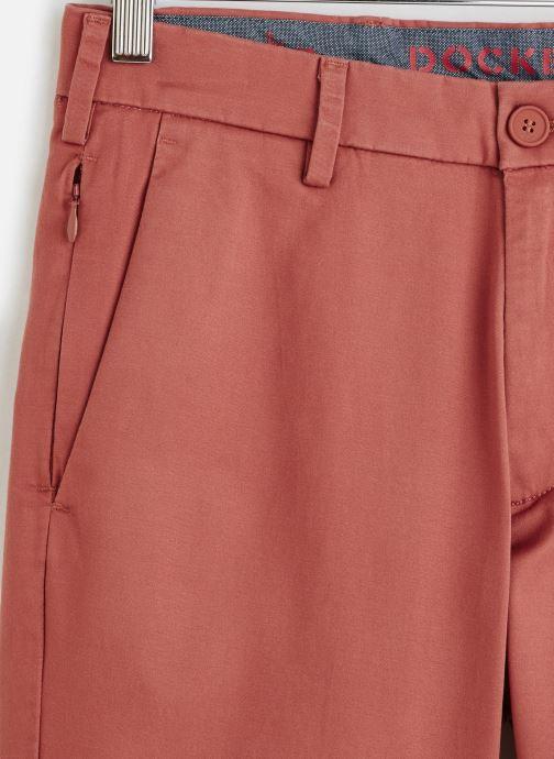 Vêtements Dockers Smart Supreme Flex Modern Chino Short Rouge vue portées chaussures