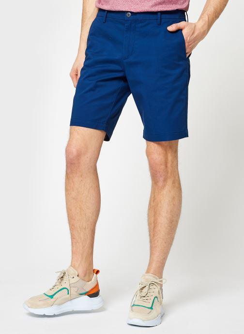 Vêtements Dockers Smart Supreme Flex Modern Chino Short Bleu vue détail/paire