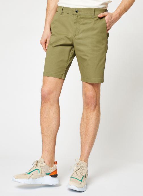 Vêtements Dockers Smart Supreme Flex Modern Chino Short Vert vue détail/paire