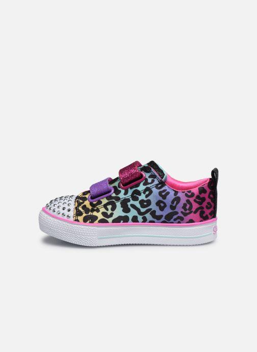 Baskets Skechers Shuffle Lite Leopard Cutie Multicolore vue face