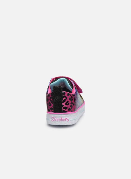 Baskets Skechers Shuffle Lite Leopard Cutie Multicolore vue droite
