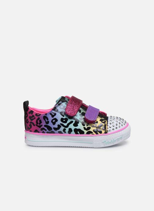 Baskets Skechers Shuffle Lite Leopard Cutie Multicolore vue derrière