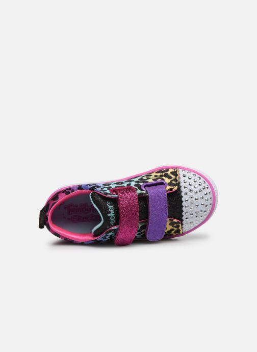 Baskets Skechers Shuffle Lite Leopard Cutie Multicolore vue gauche