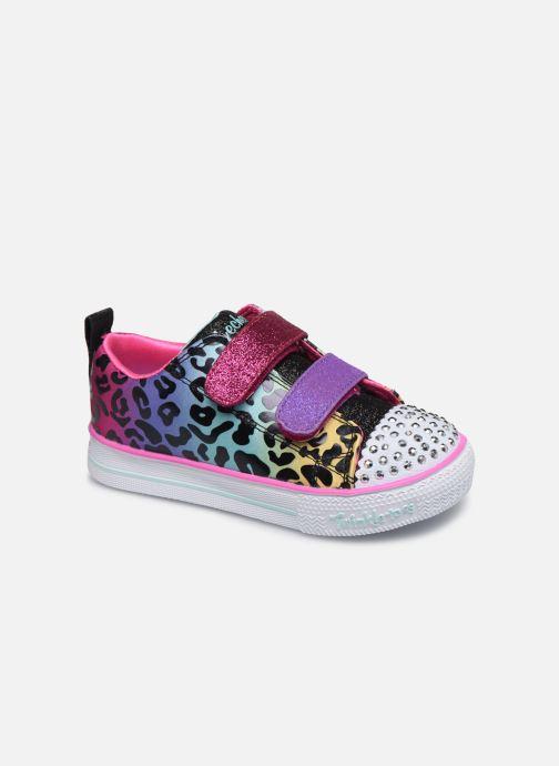 Baskets Skechers Shuffle Lite Leopard Cutie Multicolore vue détail/paire