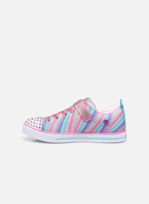 Baskets Skechers Sparkle Lite Magical Rainbows Multicolore vue face