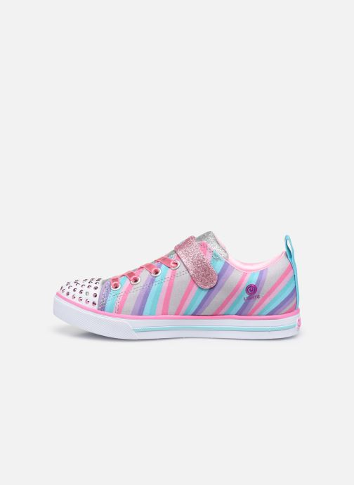 Deportivas Skechers Sparkle Lite Magical Rainbows Multicolor vista de frente