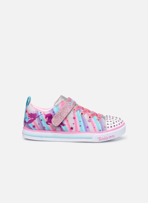 Deportivas Skechers Sparkle Lite Magical Rainbows Multicolor vistra trasera