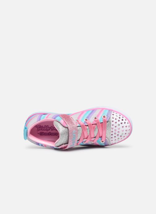 Deportivas Skechers Sparkle Lite Magical Rainbows Multicolor vista lateral izquierda