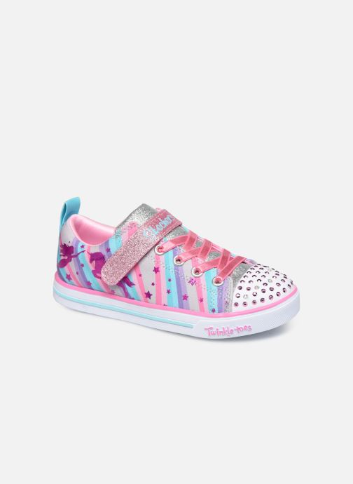 Deportivas Skechers Sparkle Lite Magical Rainbows Multicolor vista de detalle / par