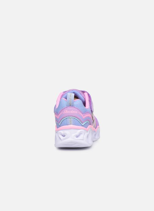 Sneaker Skechers Heart Lights Love Spark Lvmt mehrfarbig ansicht von rechts