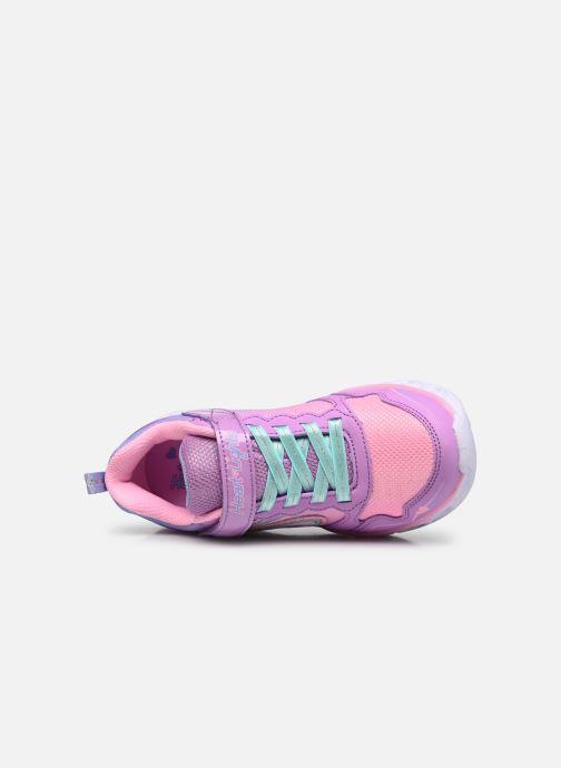 Sneaker Skechers Heart Lights Love Spark Lvmt mehrfarbig ansicht von links