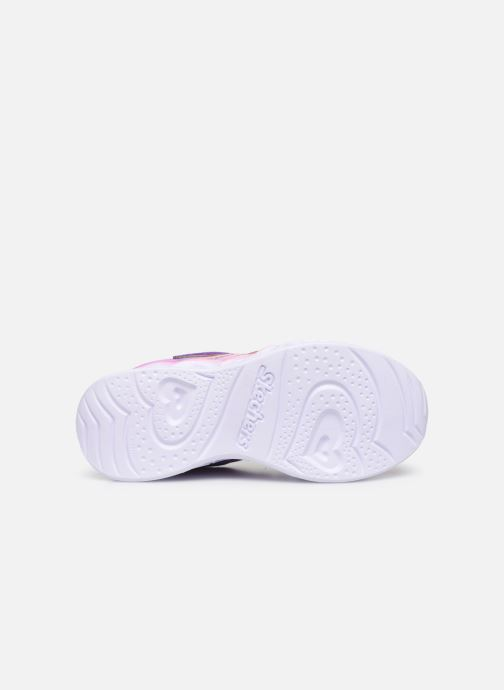 Sneaker Skechers Heart Lights Love Spark Lvmt mehrfarbig ansicht von oben