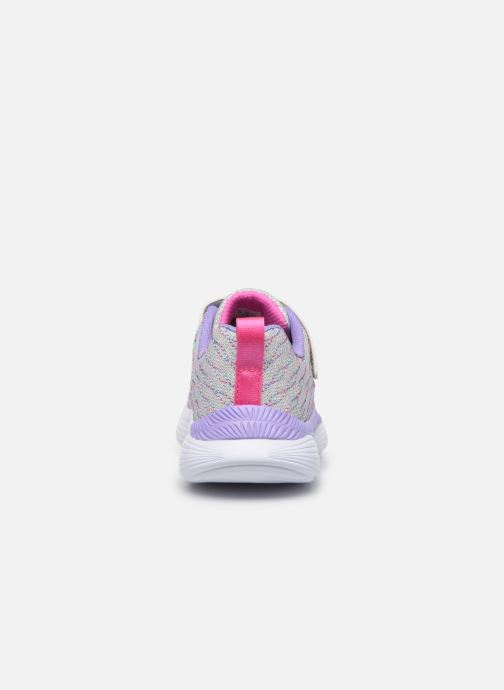 Baskets Skechers Move 'N Groove Sparkle Spinner Multicolore vue droite
