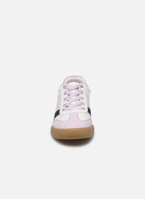Baskets Skechers Street Cleats 2 Bring It Back Blanc vue portées chaussures